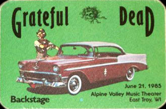 June 21, 1985 Alpine Valley Pass