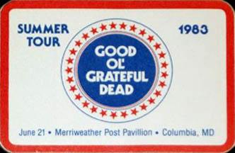 June 21, 1983 Merriweather Pass
