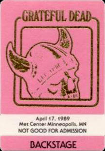 April 16, 1989 Milwaukee Pass
