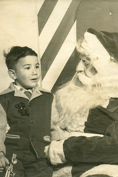 Jerry Garcia and Santa Clause